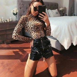 Leopard Spots Bodysuit Chic Lina