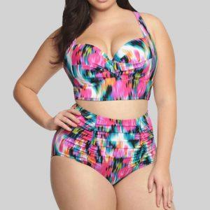 Treasure Of The Sea Bikini - Tie Die Chic Lina