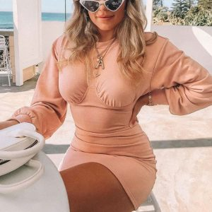 You-ness Sexy Dress Chic Lina
