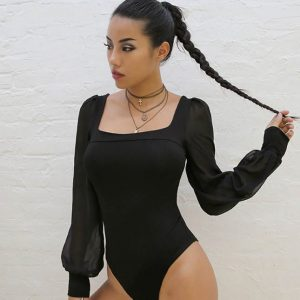 Willow Mesh Bodysuit Chic Lina