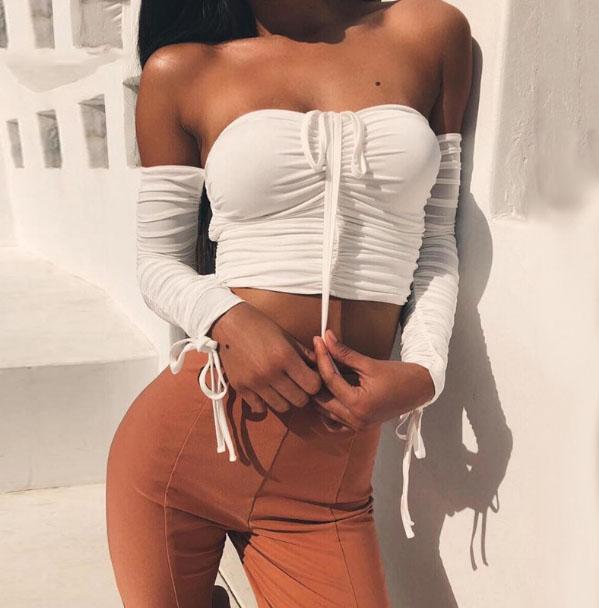 Amaya Off Shoulder Top Chic Lina