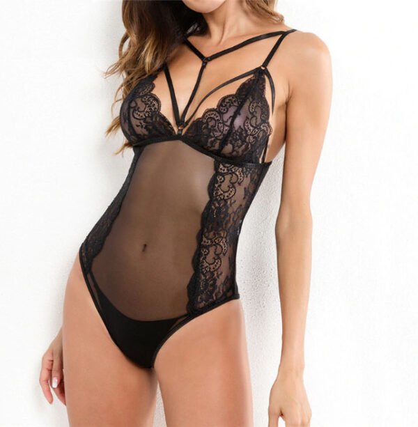 Diana Lace Bodysuit Chic Lina