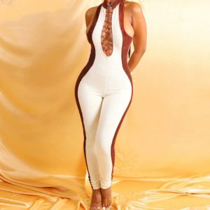 Take Charge Jumpsuit Chic Lina Collections